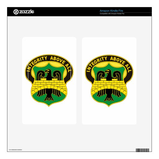 22nd Military Police Decal For Kindle Fire