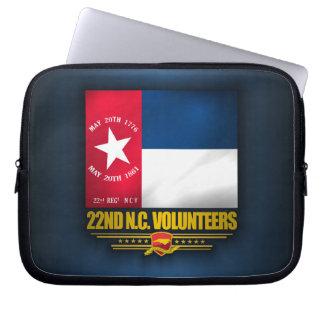 22nd North Carolina Volunteer Infantry Laptop Sleeve