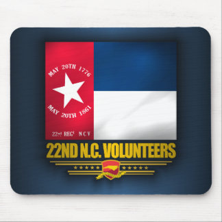 22nd North Carolina Volunteer Infantry Mouse Pad