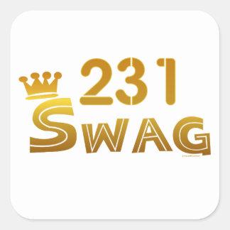 231 Michigan Swag Sticker