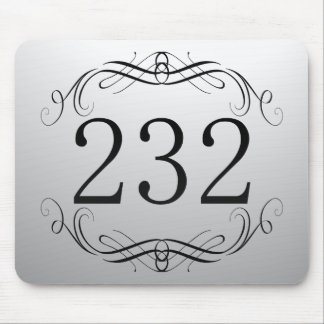 232 Area Code Mouse Pads
