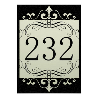 232 Area Code Posters