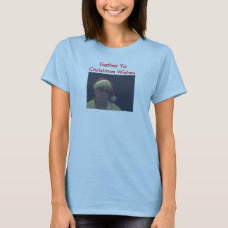 233134, Gather YoChristmas Wishes T-Shirt