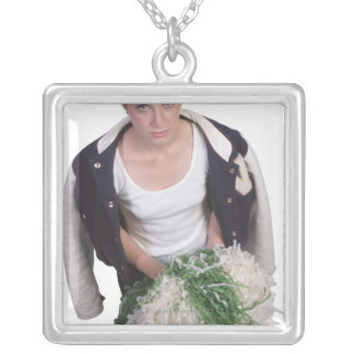23605829 SILVER PLATED NECKLACE