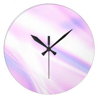2368 suaves reloj redondo grande