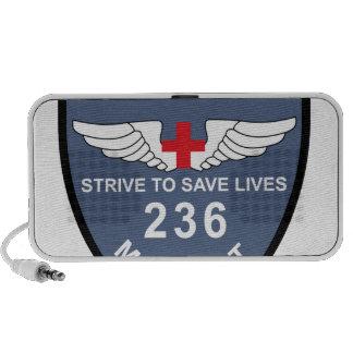 236o Los militares de la separación médica de la a Portátil Altavoces