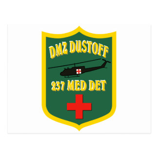237 Med Det DMZ Dustoff Postcard