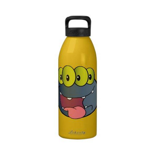 _2387-Happy-Spider-Cartoon-Character HAPPY CARTOON Water Bottle