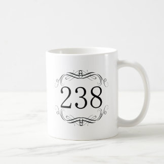 238 Area Code Coffee Mug
