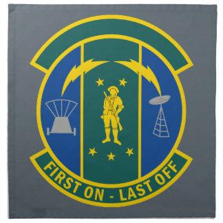 238th Combat Communications Squadron Napkin