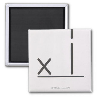 23972348 2 INCH SQUARE MAGNET