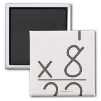 23972421 2 INCH SQUARE MAGNET