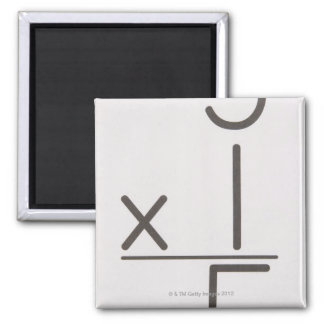 23972427 2 INCH SQUARE MAGNET