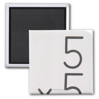 23972434 2 INCH SQUARE MAGNET