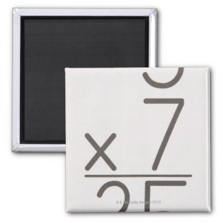 23972439 2 INCH SQUARE MAGNET