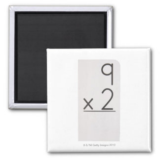 23972460 2 INCH SQUARE MAGNET