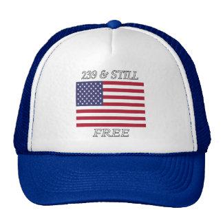 """""""239 y todavía liberan"""" el casquillo de la gorros bordados"""