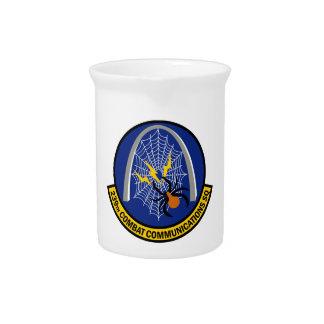 239th Combat Communications Squadron Beverage Pitcher