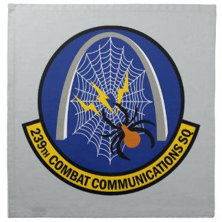 239th Combat Communications Squadron Cloth Napkin