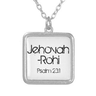 23:1 del salmo de Jehová-Rohi Colgante Cuadrado
