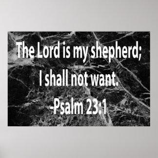 23:1 del salmo impresiones