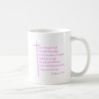 23:4 de los salmos taza de café