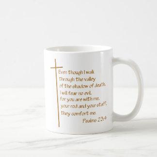 23:4 de los salmos taza