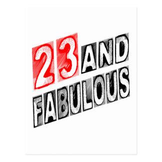 23 And Fabulous Postcard