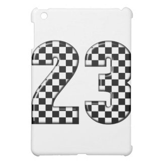 23 auto racing number cover for the iPad mini