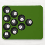 23 Ball of Chaos Pool Table Mouse Pads