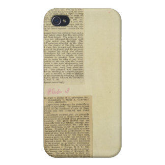 23 Clippings Cover For iPhone 4