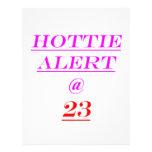 23 Hottie Alert Flyer Design