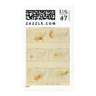 23 Interstate migration 1890 ALCT Postage