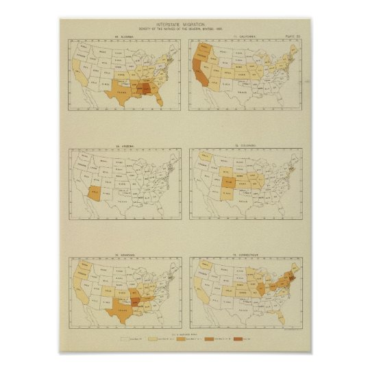 23 Interstate migration 1890 ALCT Poster