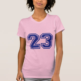 23 - number tshirts