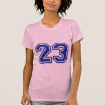23 - número camisetas
