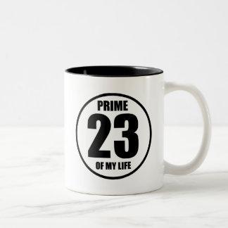 23 - prima de mi vida taza de dos tonos