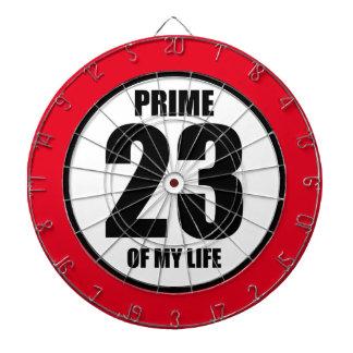 23 - prime of my life dartboards