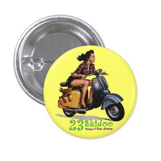 23 Skibutton Pinback Button