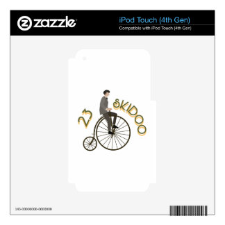 23 Skidoo Decal For iPod Touch 4G