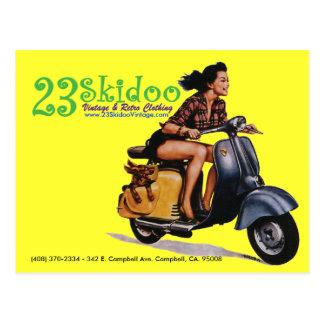 23 SkiPostcard Postcard