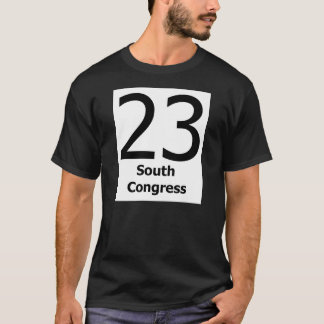 23 South Congress T-Shirt w/ Big Numbers