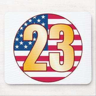 23 USA Gold Mouse Pad