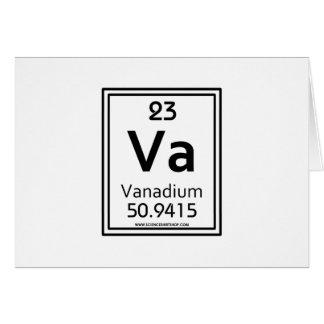 23 Vanadium Card