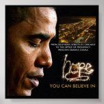 """""""23 x 23"""" 44.o poster de presidente Barack Obama"""