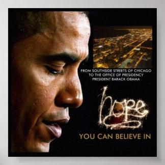 '23 x 23' 44th president Barack Obama Poster