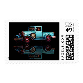 #23C - OLD FAITHFUL  (extended canvas) Postage Stamps