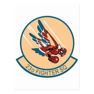 23d Escuadrón de caza Postal