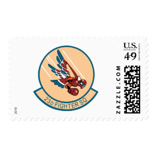 23d Fighter Squadron Stamps