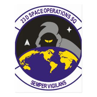 23d Operaciones del espacio SQ Postal